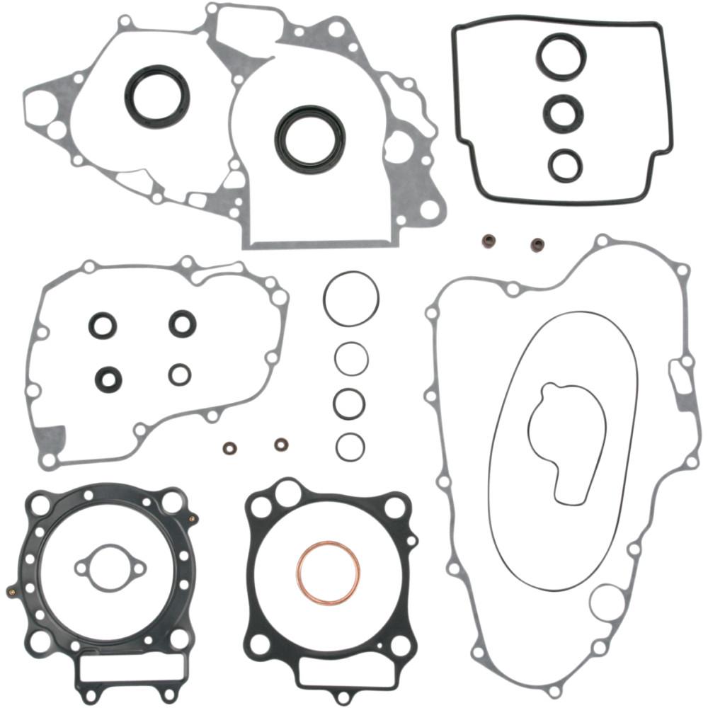 Moose Racing Complete Gasket Kit w/Oil Seals for Honda CRF