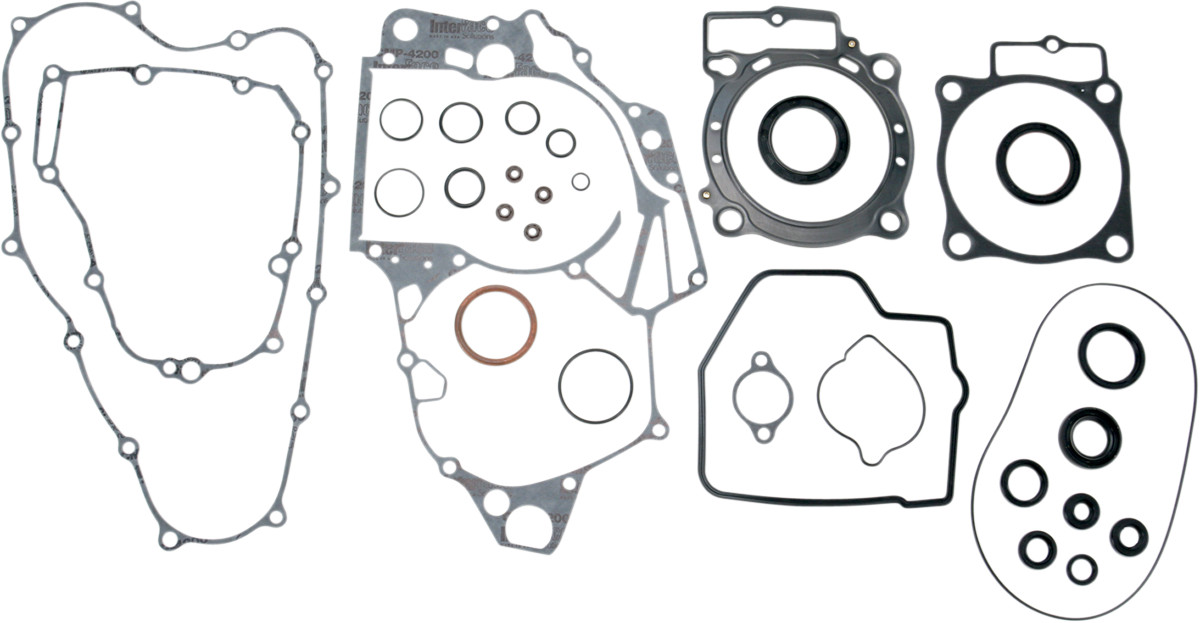 Moose Racing Complete Gasket Kit with Oil Seals for Honda