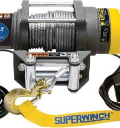 superwinch terra25 sxs 2500 lb atv utv winch steel cable 1125220 [ 1200 x 728 Pixel ]