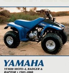 clymer repair manual for yamaha badger moto 4 raptor 80 85 08 m499 2clymer repair manual [ 830 x 1200 Pixel ]