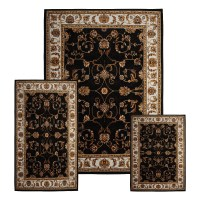 Traditional Medallion Persian 3 Pcs Area Rug Oriental ...