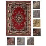 Large Traditional 8x11 Oriental Area Rug Persien Style Carpet Approx 7 8 X10 8 Ebay
