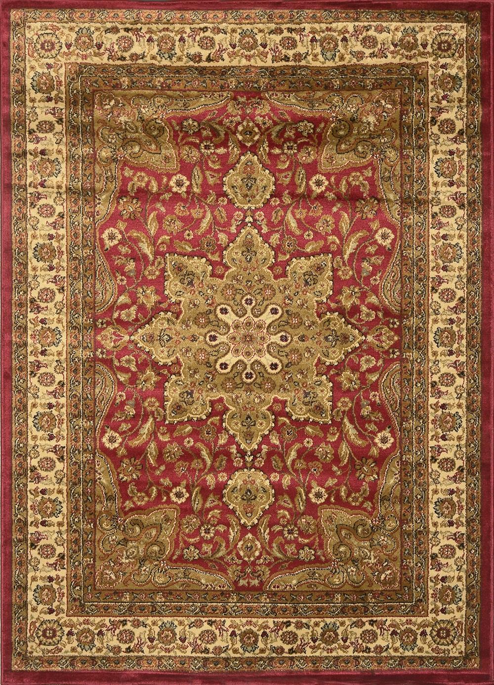 Large Medallion 8 x 11 Persian Area Rug Border Carpet  Actual 7 8 x 10 4  eBay