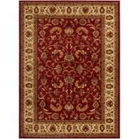 Traditional Persian Border Area Rug 5x8 Oriental Carpet ...