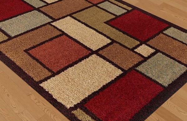 Multicolor Shag Area Rugs