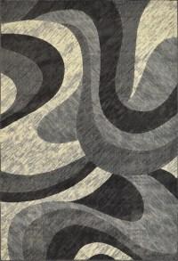 Contemporary Geometric Area Rug Modern Stripe Squares ...