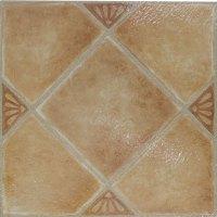 Beige Ceramic Vinyl Floor Tiles 20 Pcs Self-Adhesive ...