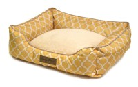 Pet Beds Dog Cat Soft Microfiber Orthopedic Nesting Fleece ...