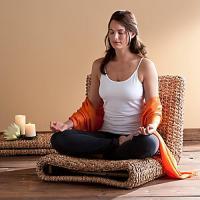 Water Hyacinth Meditation Chair | eBay
