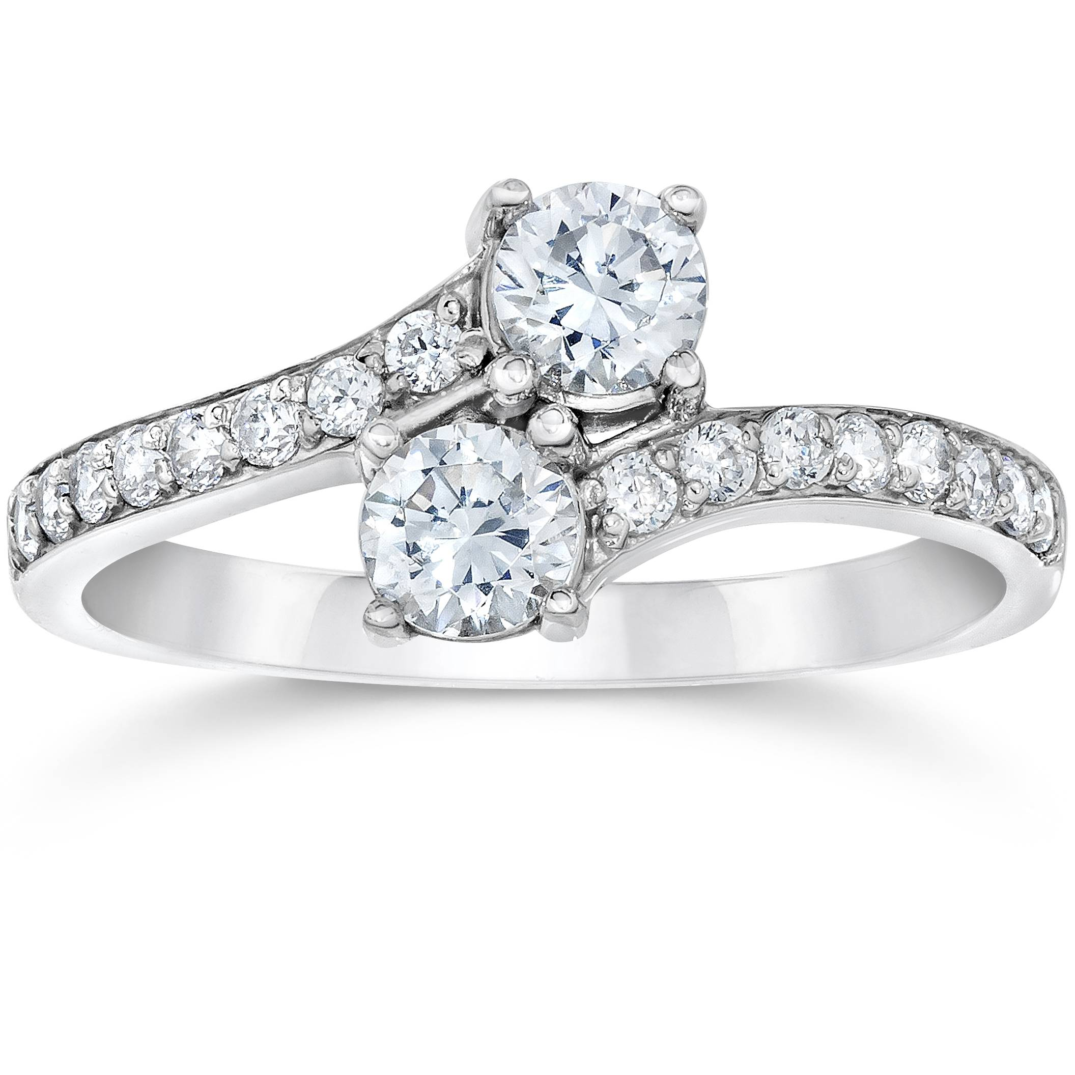 1 Carat Forever Us Round Solitaire Natural Diamond Two