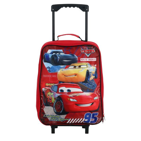 Disney Kids' Lightning Mcqueen And Friends Rolling Luggage 727379153594