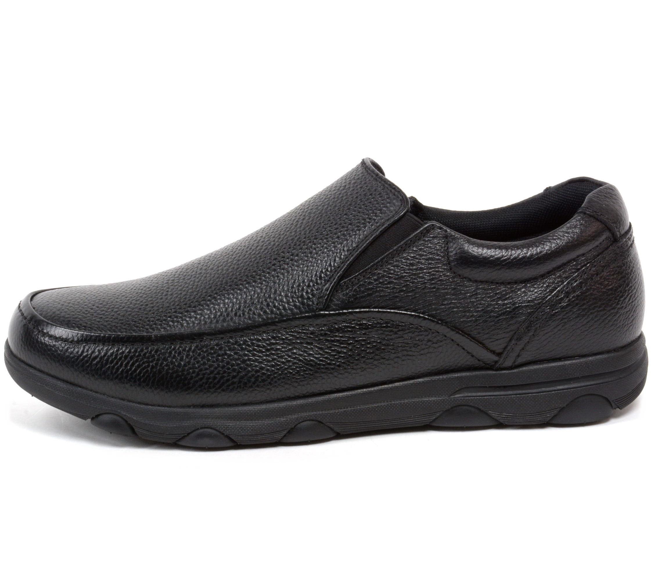 Black Slip Resistant Work Shoes