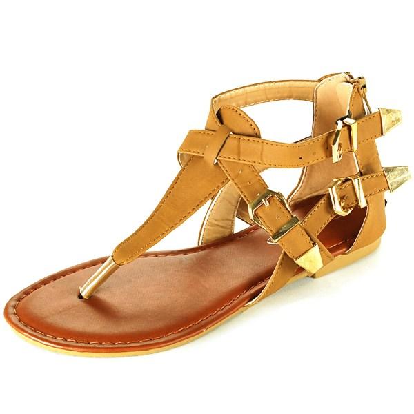 Gladiator Women's Sandals Flip Flop Straps