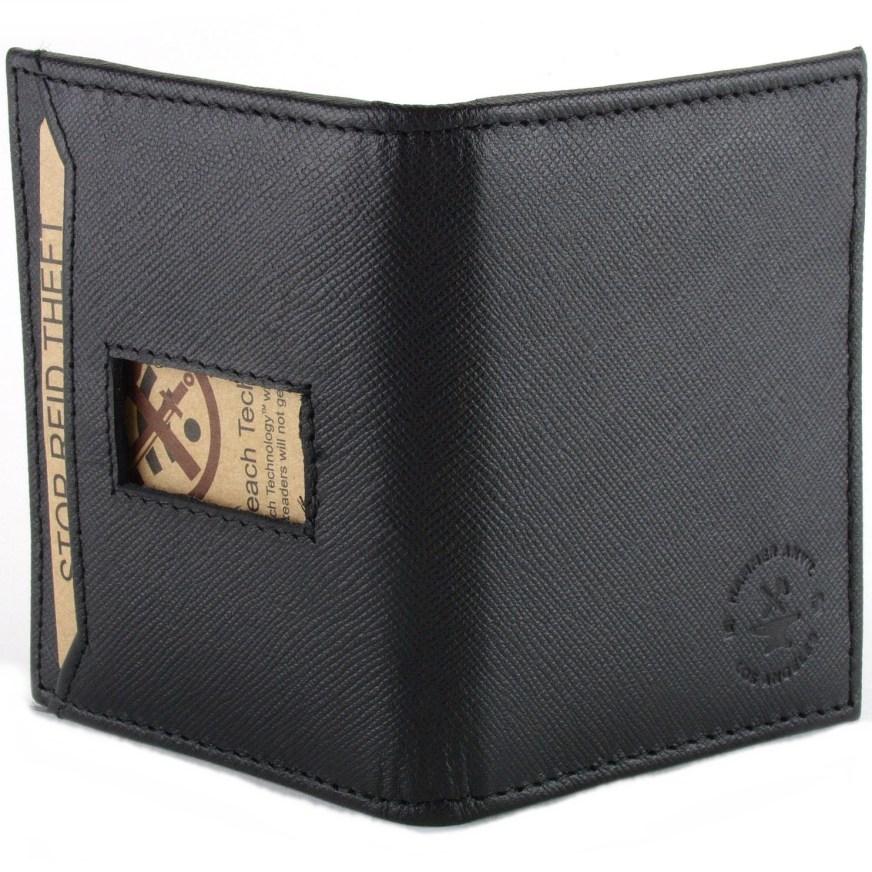 Hammer Anvil RFID Blocking Men's Minimalist Wallet Leather ...
