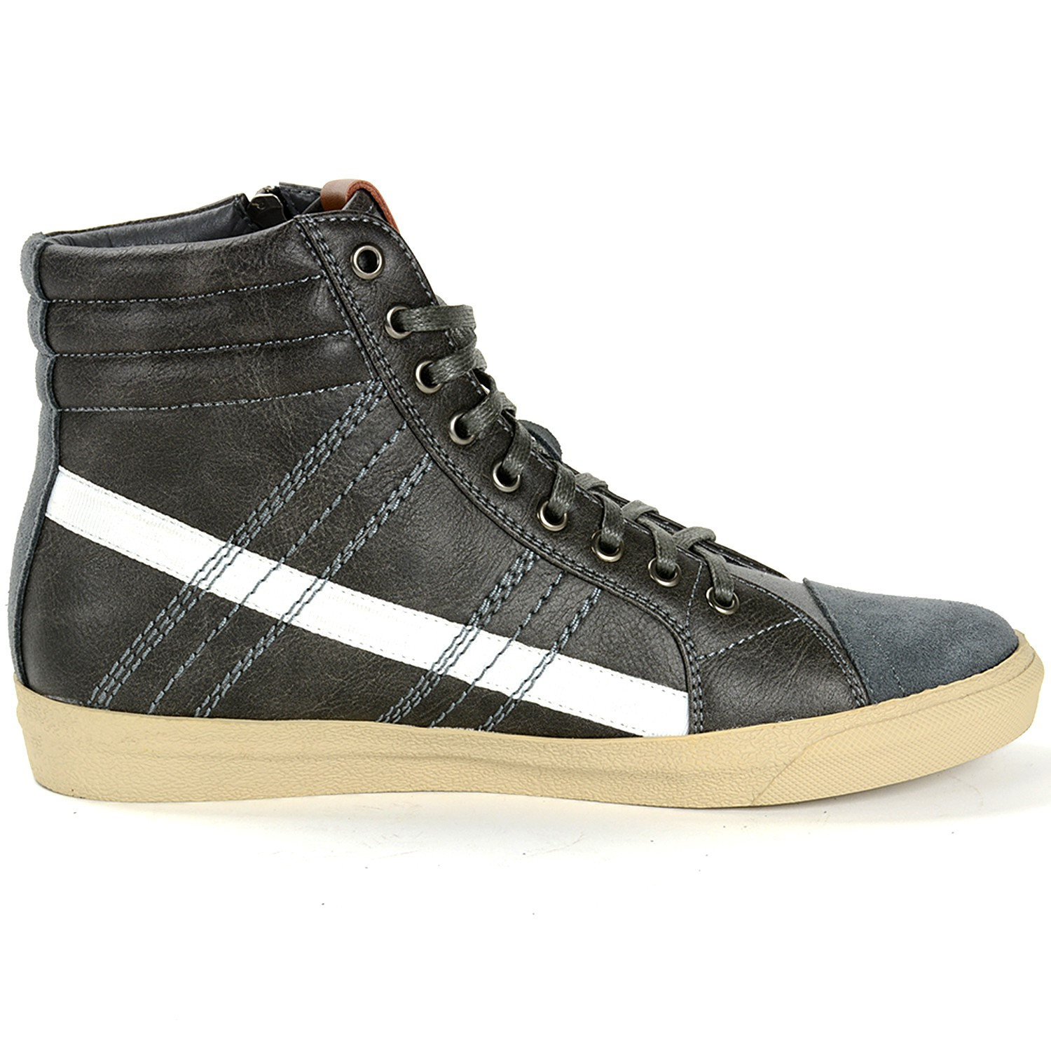 Mens Casual Lace Up Boots