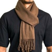 AlpineSwiss Mens Plaid Scarves Winter Scarf Soft Neck Wrap
