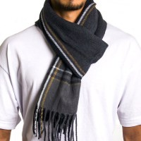 Alpine Swiss Mens Scarf Softer Than Cashmere Scarves
