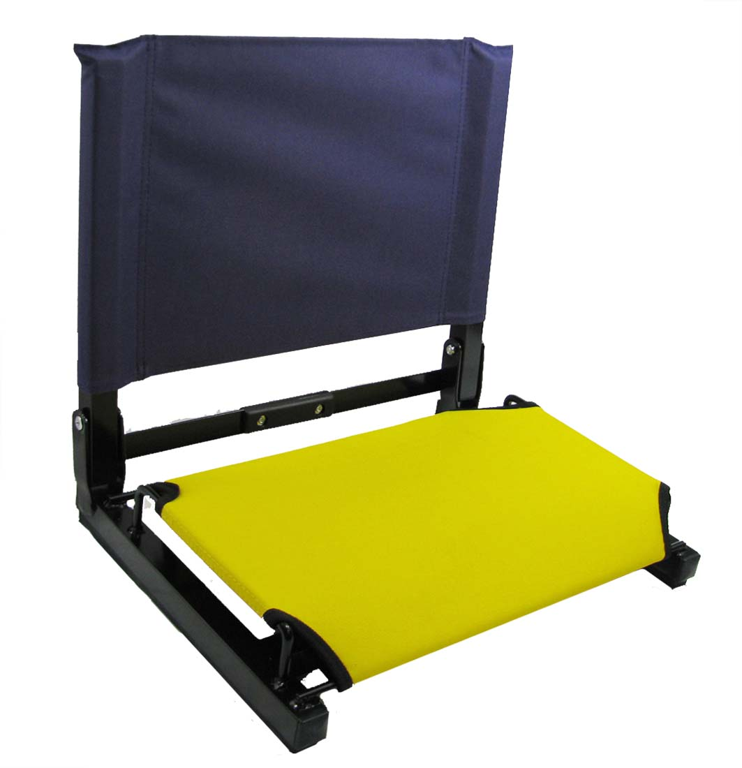 Stadium Chairs Patented Stadium Chair Bleacher Seat Ebay