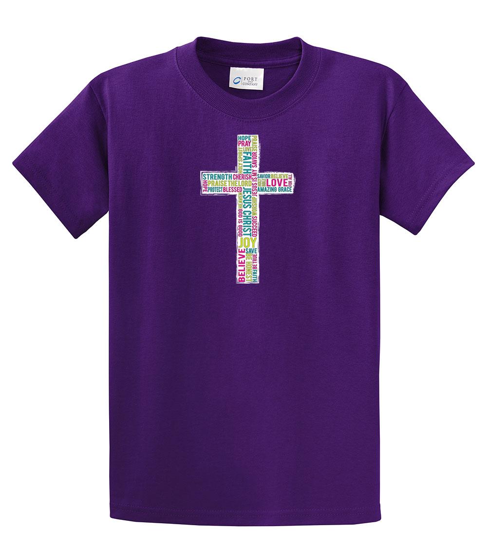 Christian TShirt Inspirational Cross  eBay
