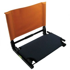 Stadium Chair For Bleachers Leather Couch And Set Patented Bleacher Seat Ebay
