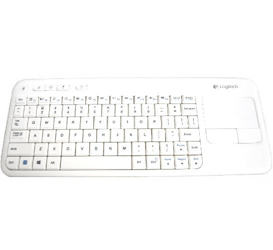 Logitech Wireless Touch Keyboard k400 with Built-in Multi