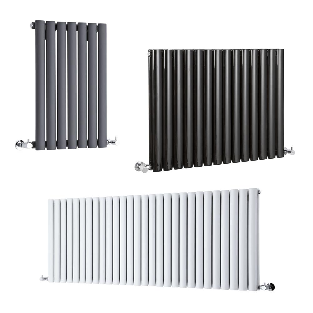 Horizontal Designer Column Radiators Double & Single