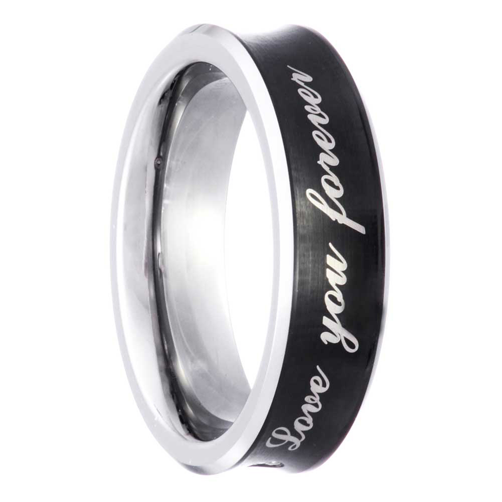 Tungsten SI1SI2 Round Diamond Mens Womens Wedding Ring