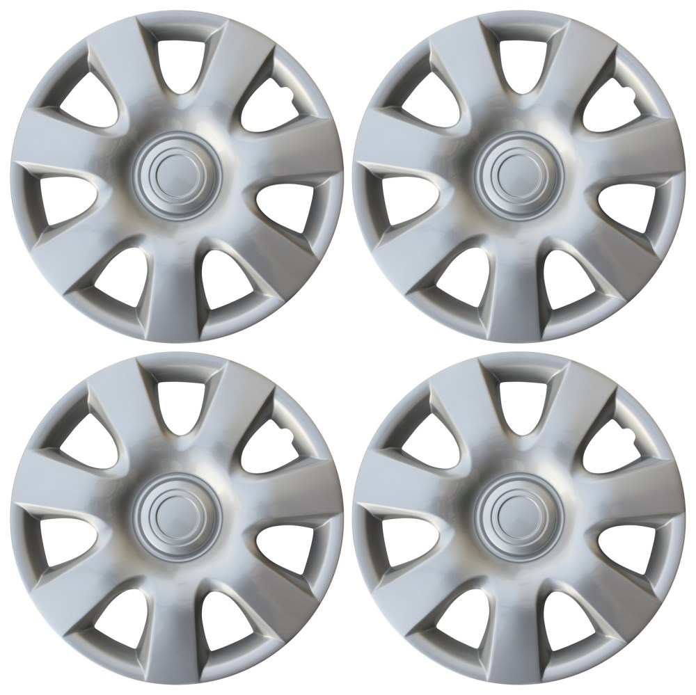 medium resolution of new universal set of 4 fits 2002 2003 2004 toyota camry 15 hubcaps hub cap caps