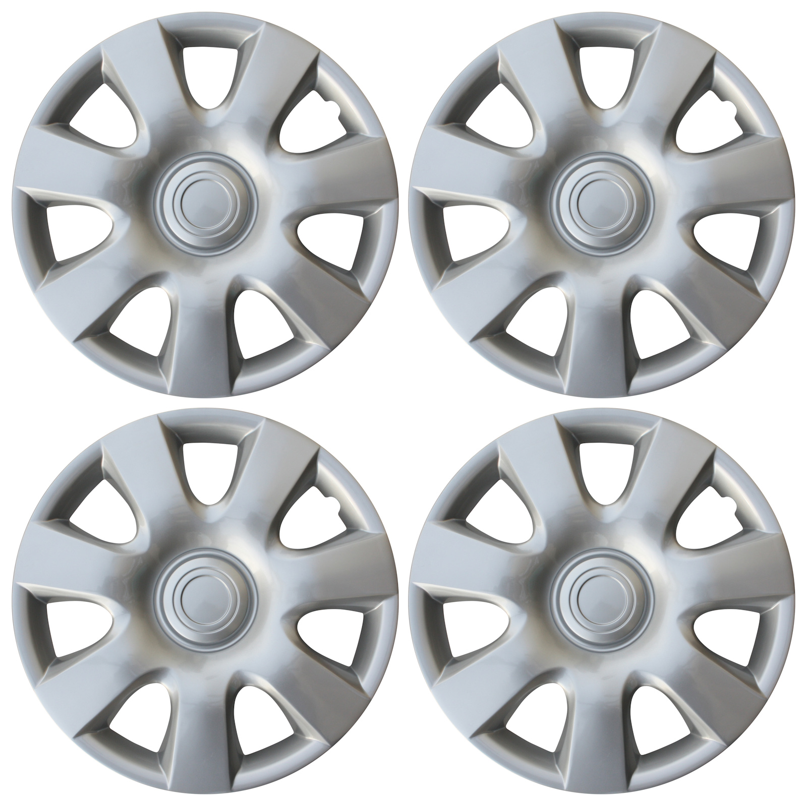 hight resolution of new universal set of 4 fits 2002 2003 2004 toyota camry 15 hubcaps hub cap caps