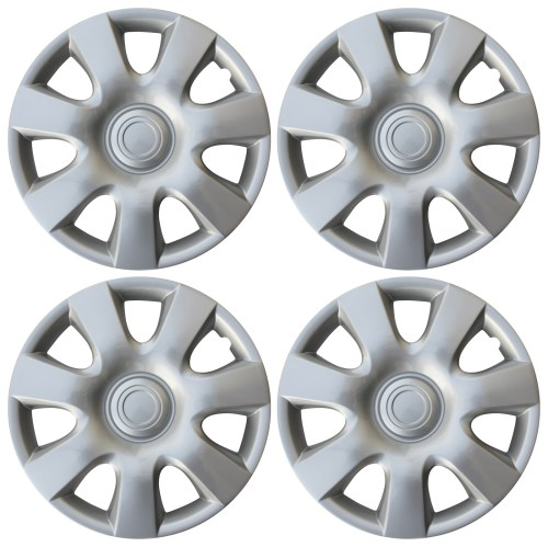 small resolution of new universal set of 4 fits 2002 2003 2004 toyota camry 15 hubcaps hub cap caps