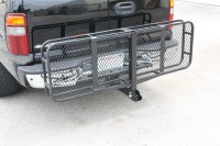 "IRON FIST 60"" Folding CARGO CARRIER Basket Hitch Hauler ..."