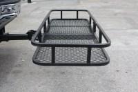 "IRON FIST 60"" Folding CARGO CARRIER Basket Hitch Hauler ..."