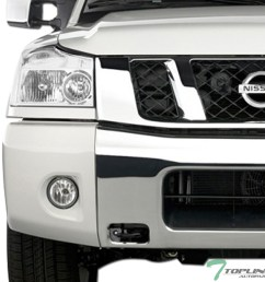 details about topline for 2004 2015 nissan titan 05 armada chrome clear headlights signal nb [ 1000 x 1000 Pixel ]