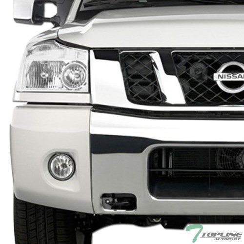 small resolution of details about topline for 2004 2015 nissan titan 05 armada chrome clear headlights signal nb