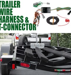 details about topline for 2014 2018 kia sorento trailer hitch 4 way wiring harness connector [ 1000 x 1000 Pixel ]
