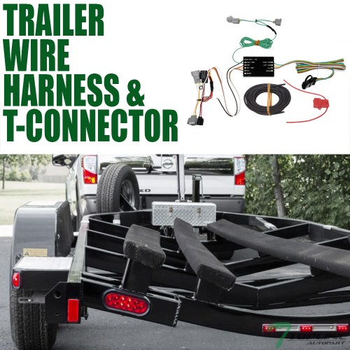 small resolution of topline for 2016 2019 toyota tacoma trailer hitch 4 way wiring