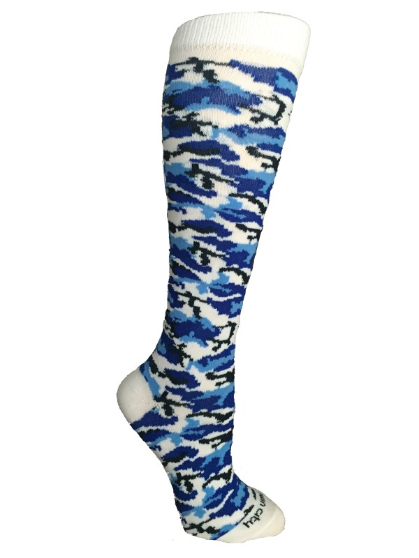 Camo Camouflage Long Tall Socks Softball Soccer Volleyball