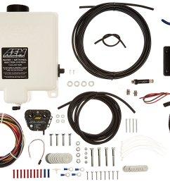 details about genuine aem 30 3300 water methanol injection kit 1 gallon tank v2 w map sensor [ 1500 x 1080 Pixel ]