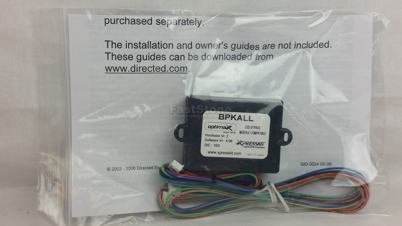Directed Electronics Toyota Lexus Immobilizer Bypass For Remote Start