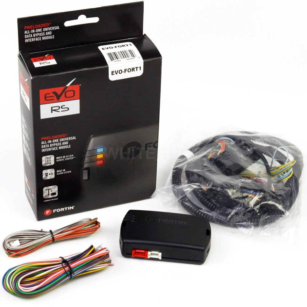 medium resolution of details about fortin evo fort1 bypass module t harness for ford evo all thar ford1 evofort1