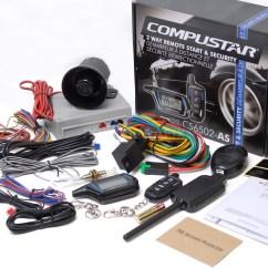 Car Alarm Remote Start Installation Wiring Diagram Cd 98 Ford Ranger Alternator Compustar Cs6502 As 2 Way Starter And