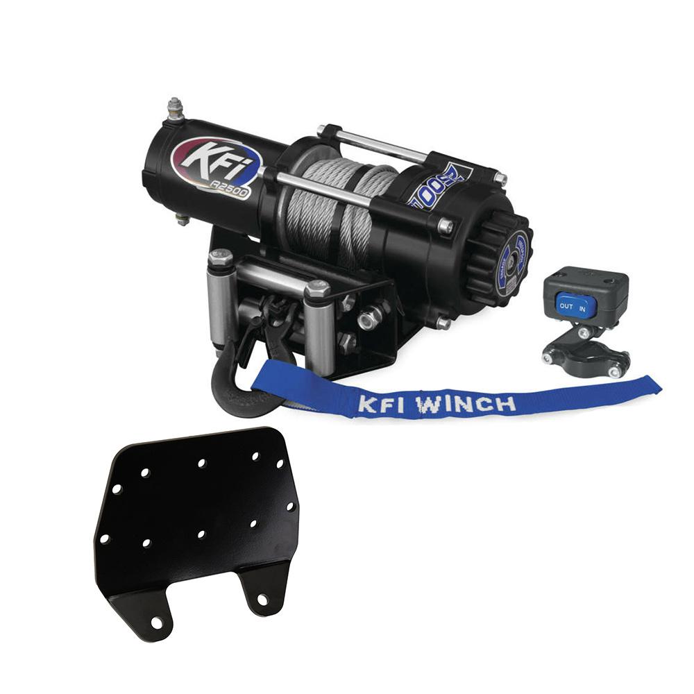 hight resolution of kfi atv series 2500lb winch