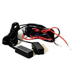 3 amp dual usb wire harness [ 1000 x 1000 Pixel ]