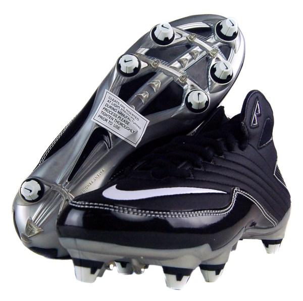 Nike Super Speed 3 4 Sz 9.5 Mens Football Cleats Black Grey