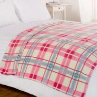 Luxury Decorative Soft Sofa Bed Fleece Throw Blanket 120 x ...