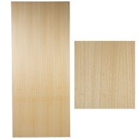 Solid Hardwood Fire Door - Internal Safety Light Wooden ...