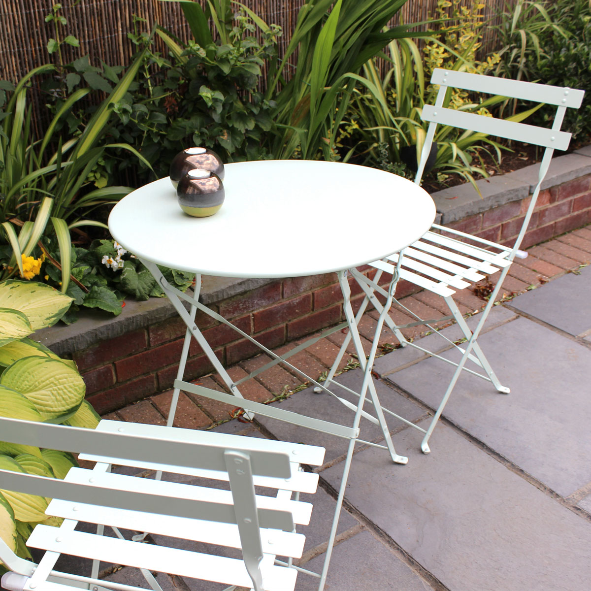 2 chairs and table patio set sure fit chair covers nz bentley garden 3 piece metal furniture bistro