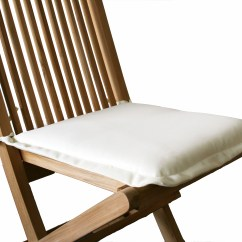 Garden Chair Cushion Covers Uk Folding Nice 1 X Pair Of Seat Pad Cushions Available In