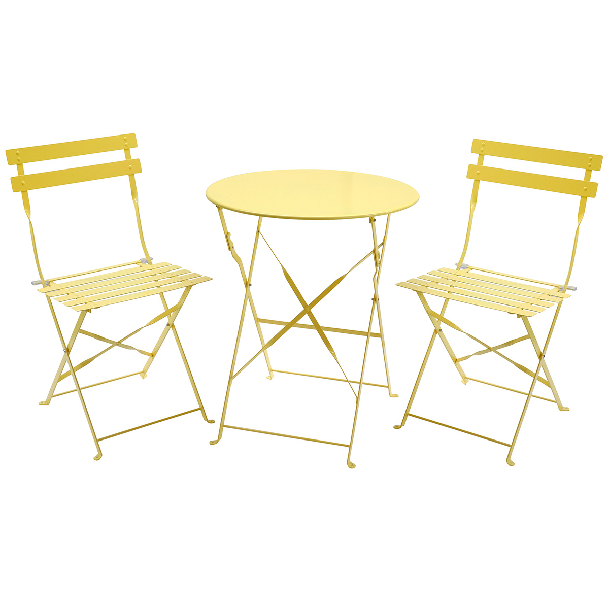 2 chairs and table patio set ergonomic chair for home office charles bentley 3 piece metal bistro garden