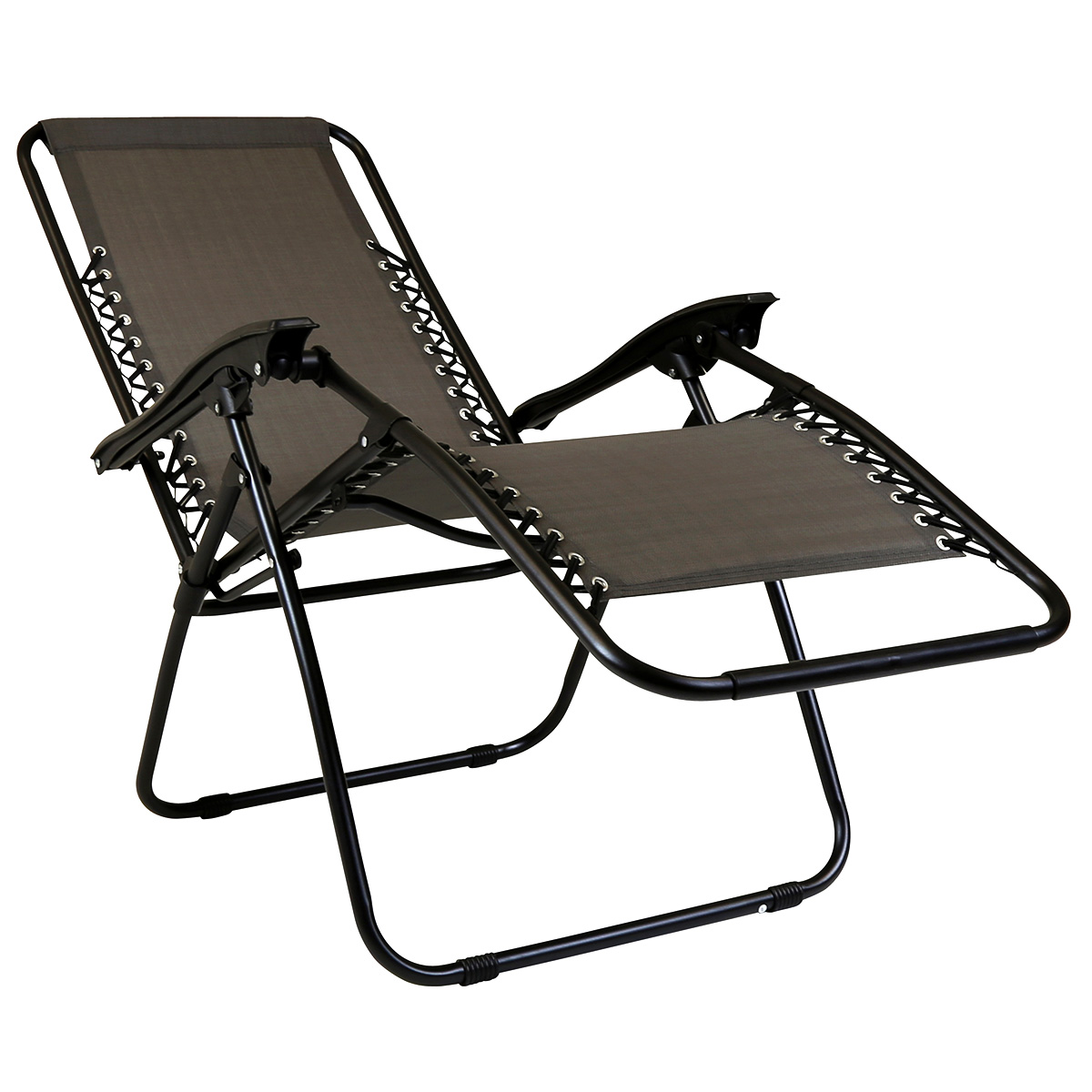 Charles Bentley Folding Reclining Garden Chair Camping